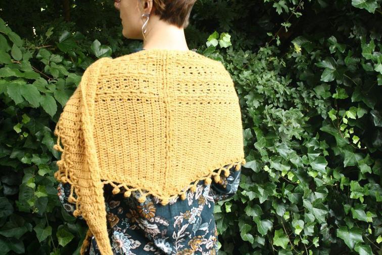 Tessel Shawl Crochet Pattern