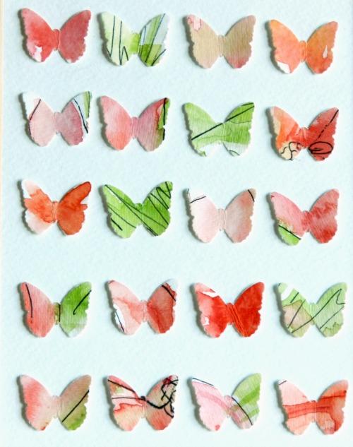 Watercolor Butteflies