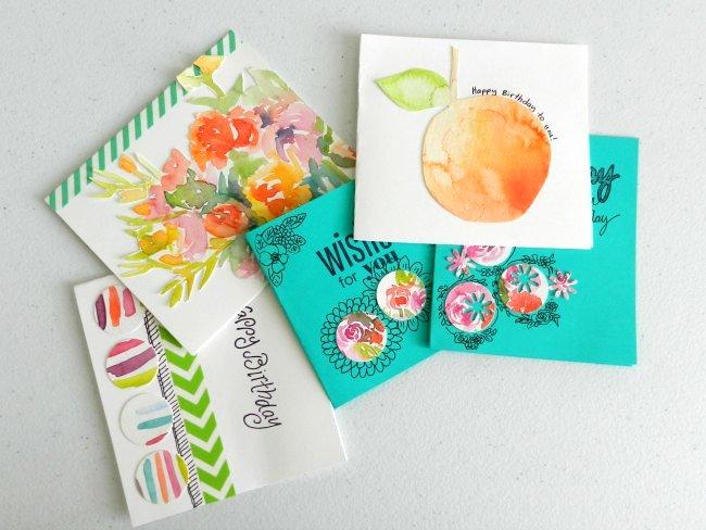Handmade Watercolor Cards