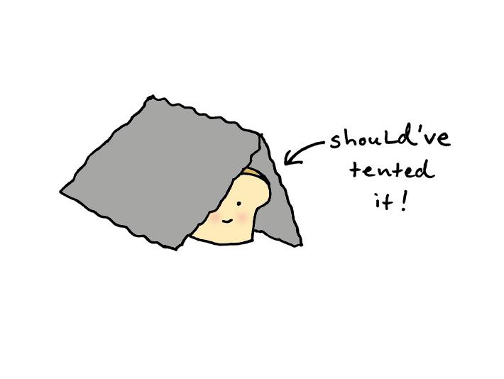 Foil tent