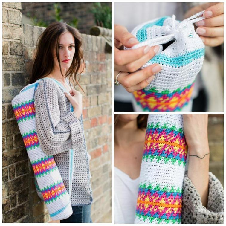 Yoga Bag Crochet Pattern