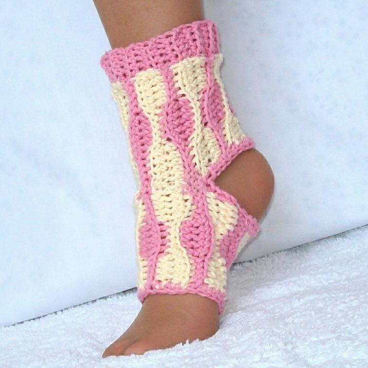 Yoga Socks Crochet Pattern