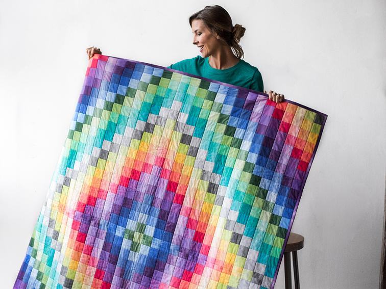 Color My World Quilt Kit