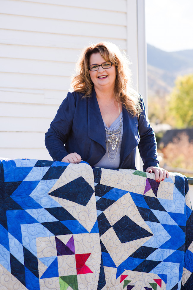 Nancy McNally, Blazing Star Quilt Designer