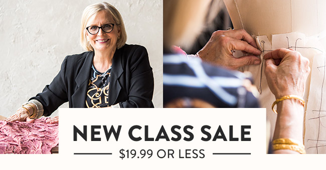 SALE on new classes at Bluprint