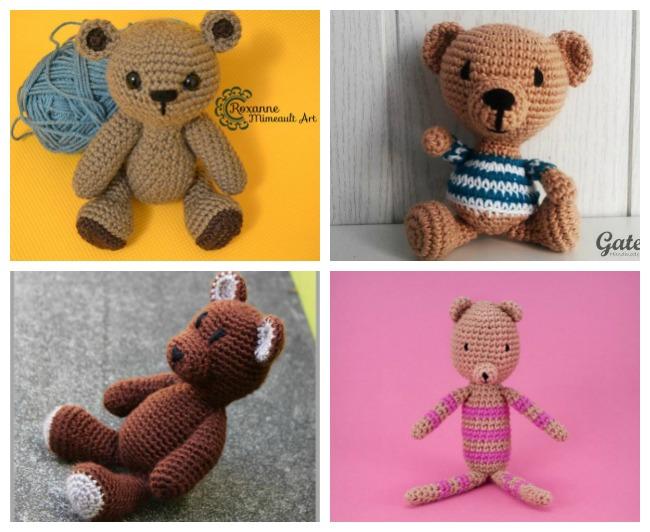 Crochet Teddy Bear Patterns