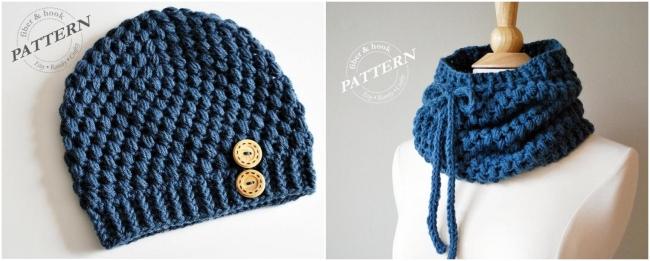 Crochet puff stitch example pattern