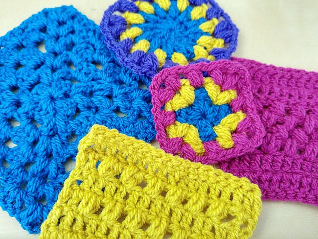 Crochet puff stitch tutorial featured