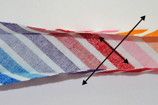 DIY Single Fold Bias Tape