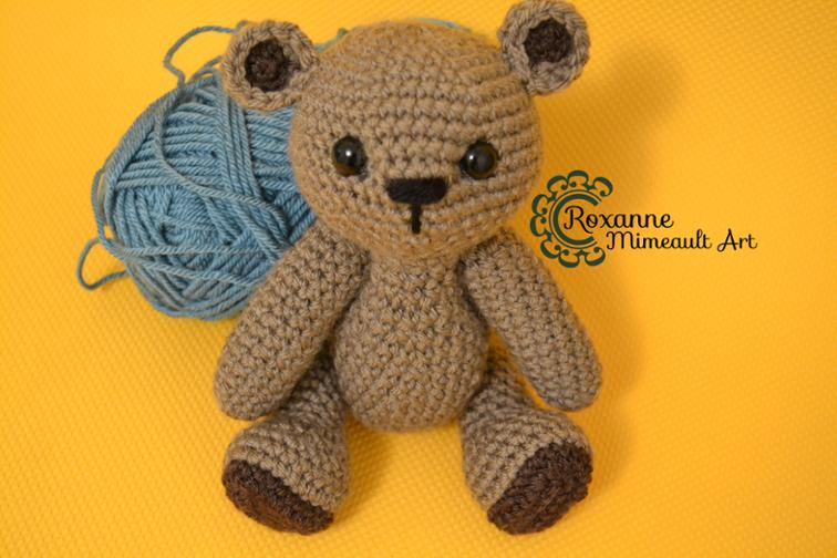 Teddy Bear Amigurumi Crochet Pattern