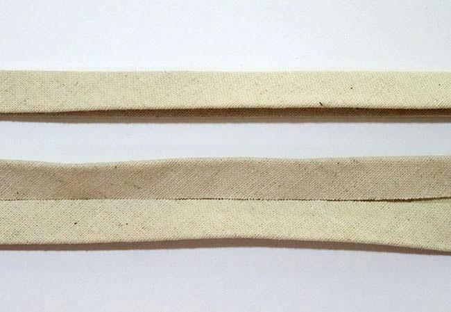 DIY Double Fold Bias Tape