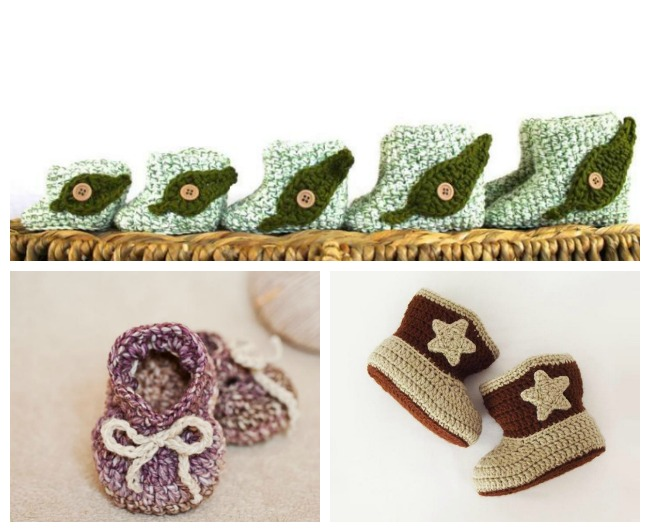 Free Crochet Baby Shoes