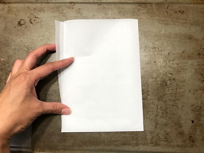 fold parchment