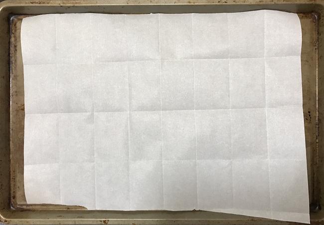 parchment grid