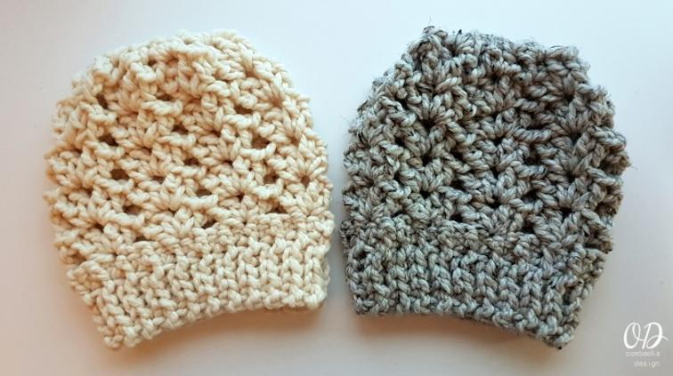 Ponytail Hat Crochet Pattern