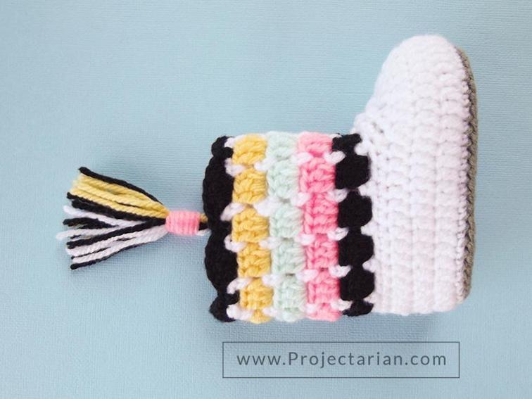 Southwestern Booties Crochet Pattern