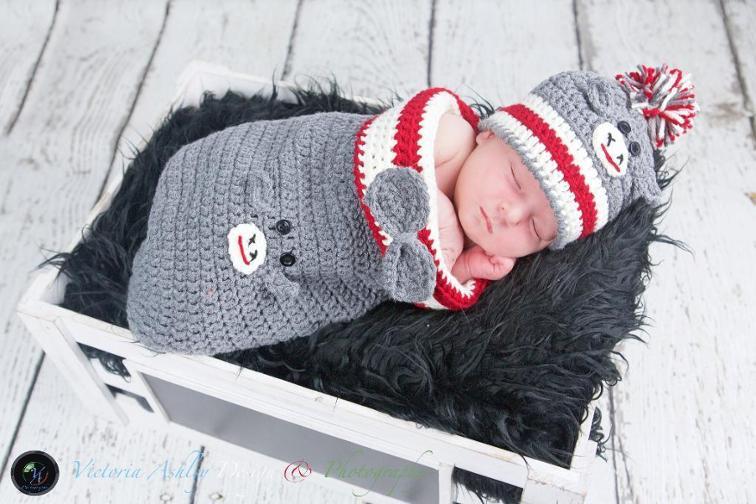 Monkey Crochet Baby Cocoon Pattern