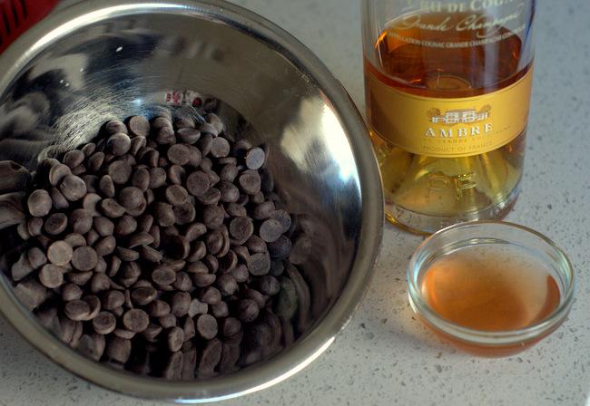 How to Make Dark Chocolate Champagne Truffles