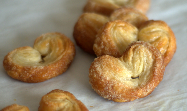 Easy 2-Ingredient Palmiers
