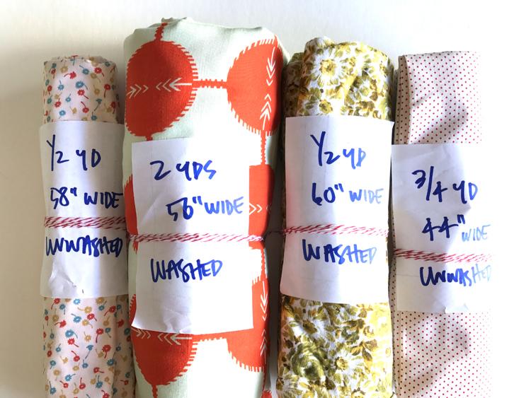 Simple Fabric Storage