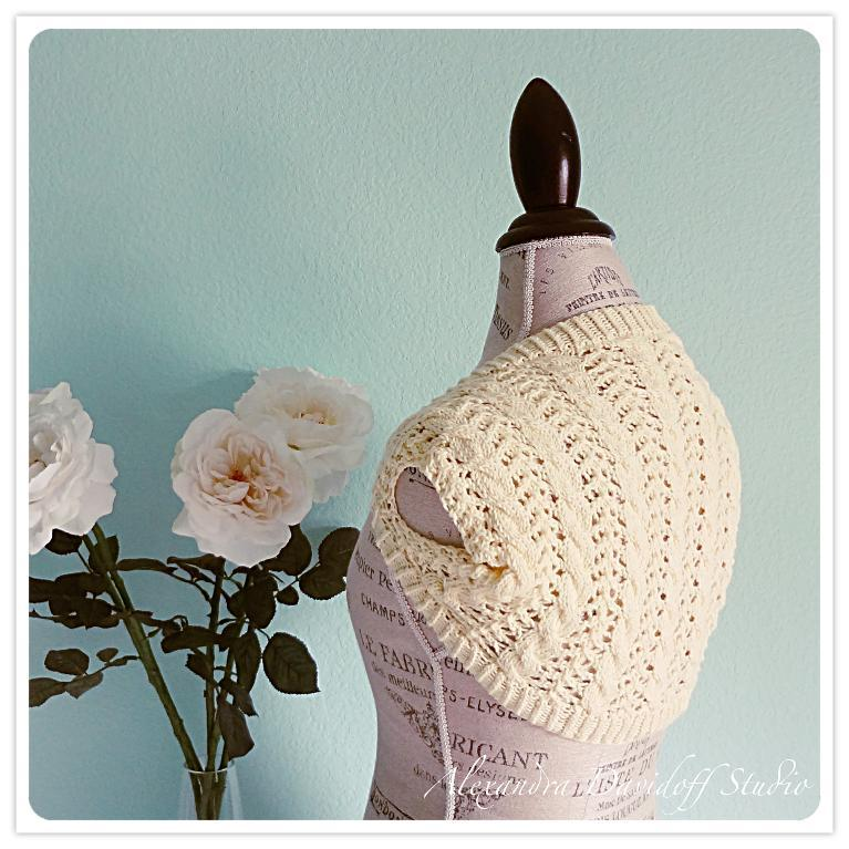 July free shrug knitting pattern