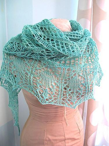 Free Shawl Knitting Pattern
