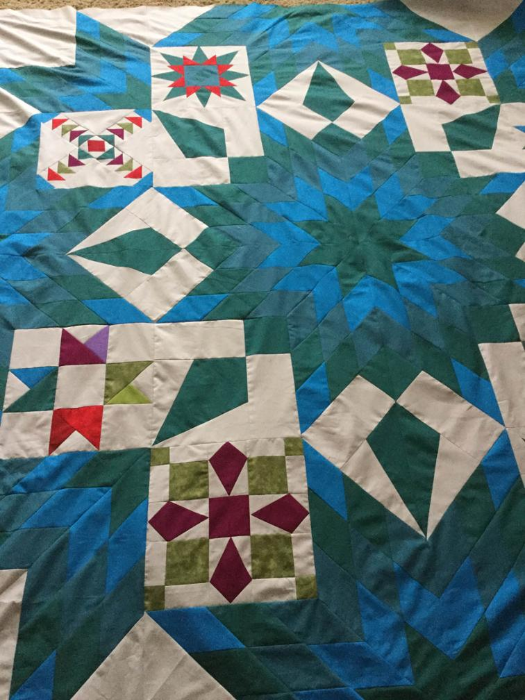 Lonestar Quilt with a Twist Created by: kats536842387
