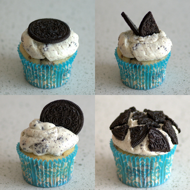 How to Decorate Oreo Cupcakes