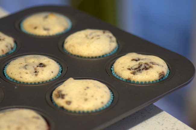 Freshly-Baked Oreo Cupcakes