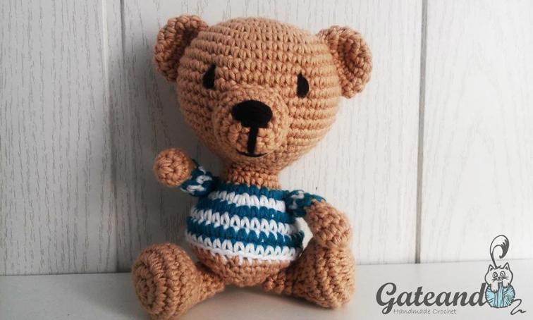 Picasso Teddy Bear Crochet Pattern