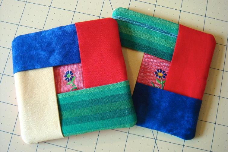 Quickie Quilted Coasters