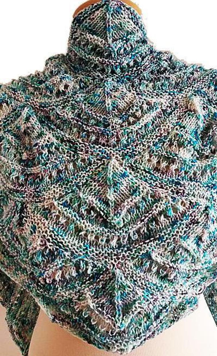 Speckled Shawl Knitting Patterns