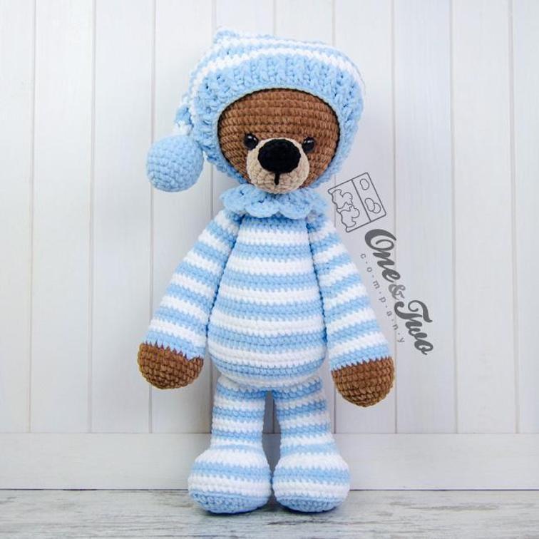 Sydney the Big Teddy Bear Crochet Pattern