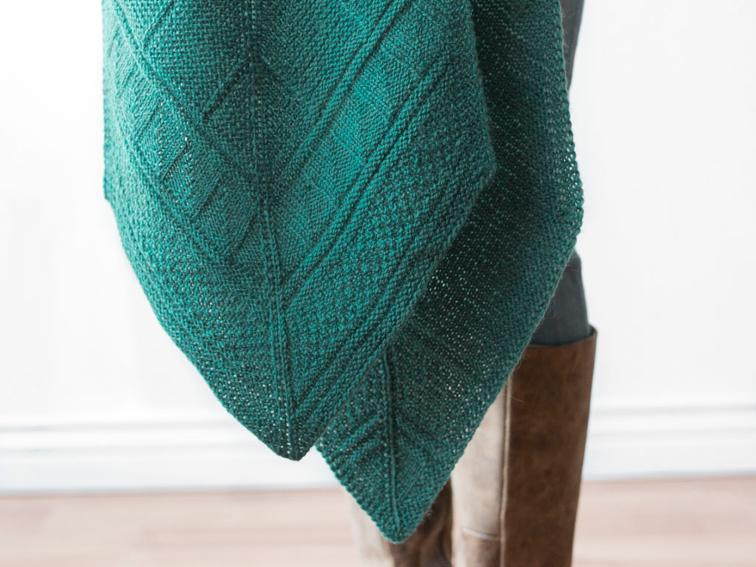 Deco Lines Scarf Knitting Kit