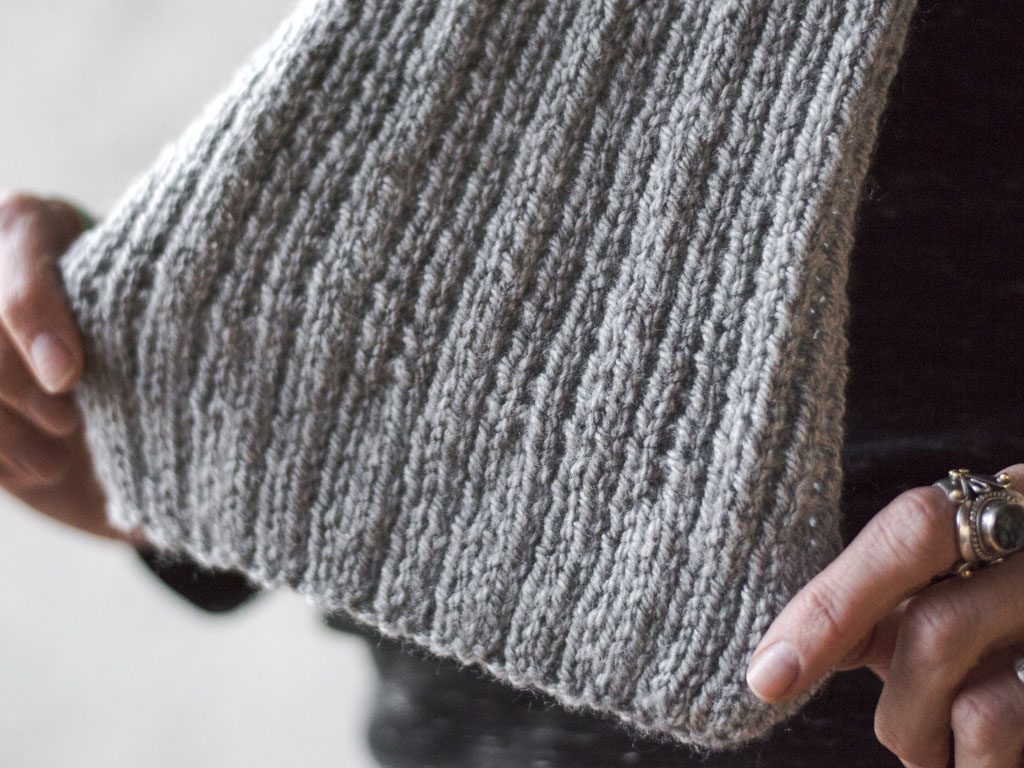 Worsted Scarf Three Ways Knitting Kit