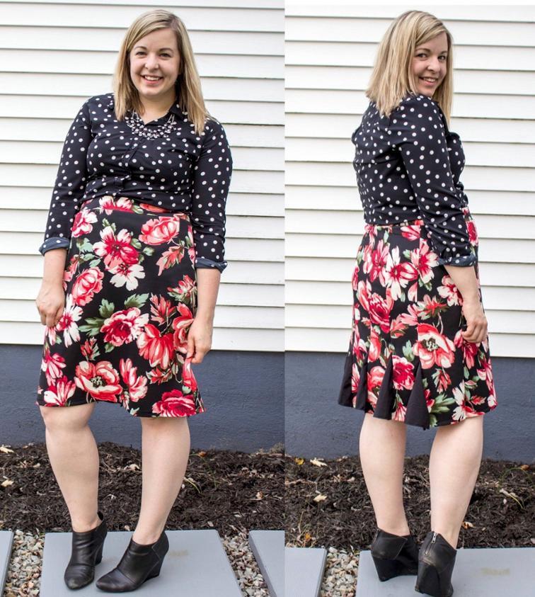 Runway Skirt Sewing Pattern