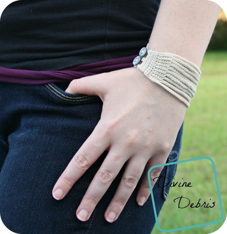 Leah Crochet Bracelet