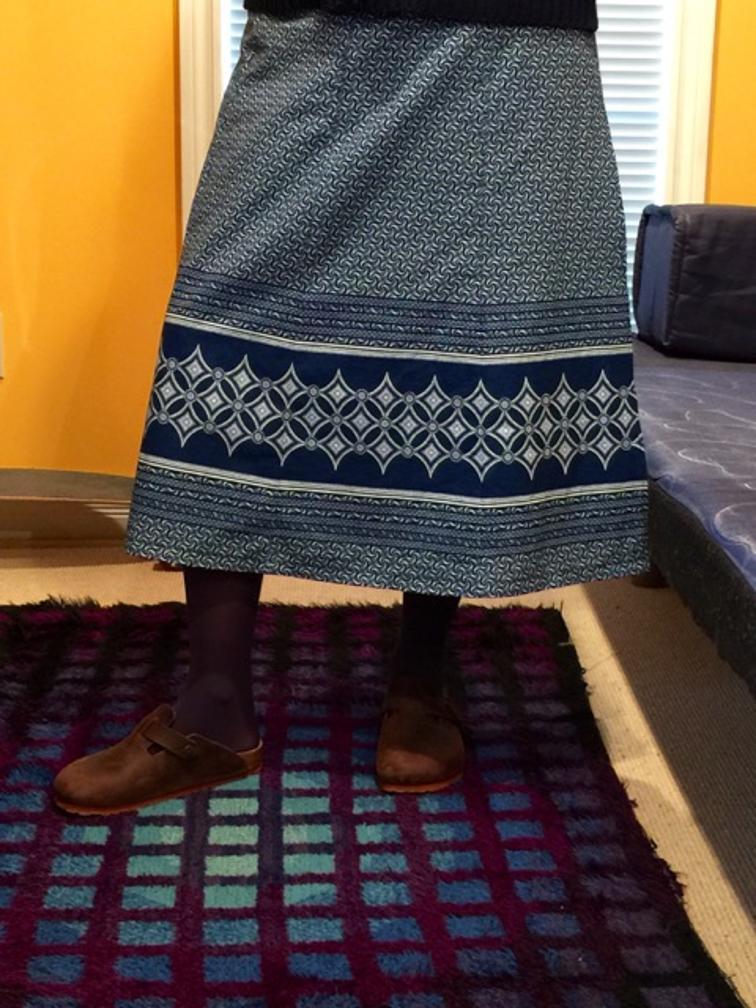 Makoti Wrap Skirt Sewing Pattern