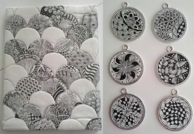 Nancy Smith's Zentangles