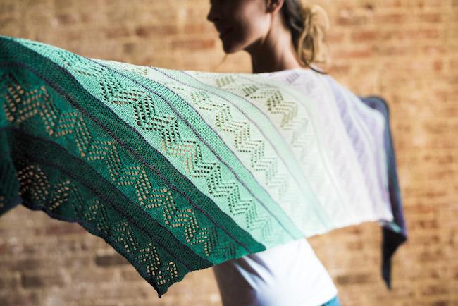 Inara Wrap Knitting Kit
