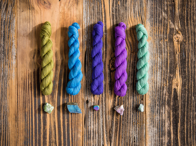 Cloudborn Mini Skeins