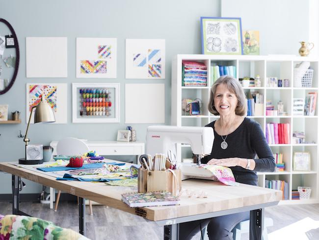 Nancy Smith in Bluprint's Dream Quilt Studio