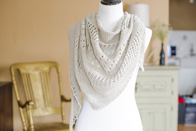 Over the Sea to Skye Lace Shawl Knitting Kit