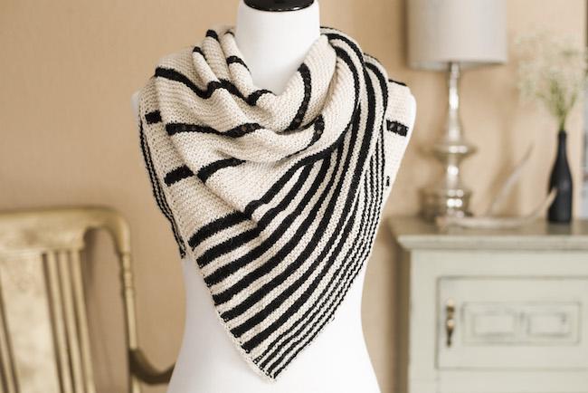 Swedish Lines Shawl Knitting Kit