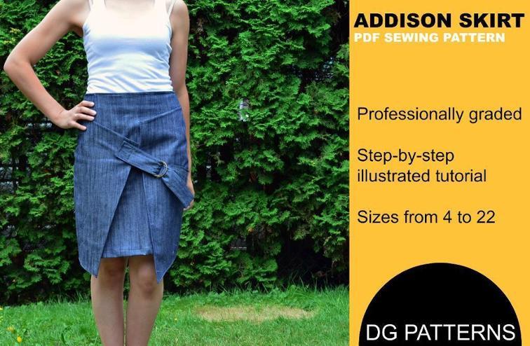 Addison Skirt Sewing Pattern