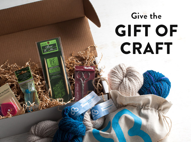 Give the Gift of Craft on Bluprint