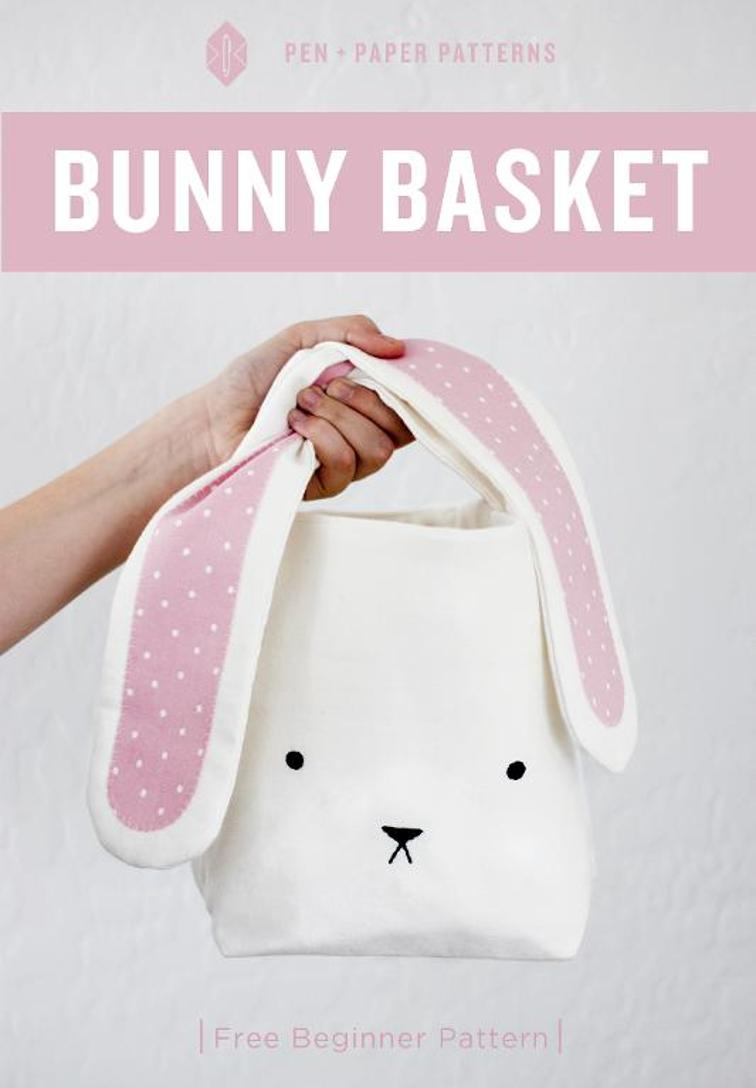 Bunny Basket Sewing Pattern