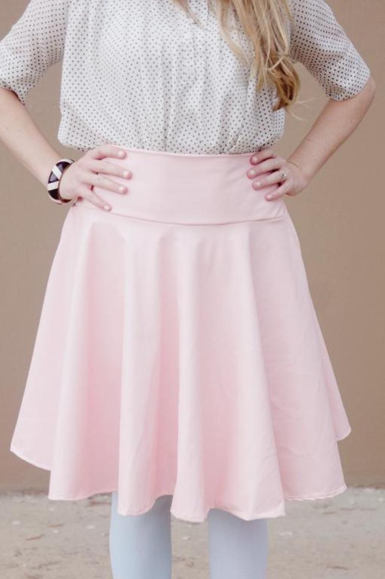 Free Circle Skirt Sewing Tutorial