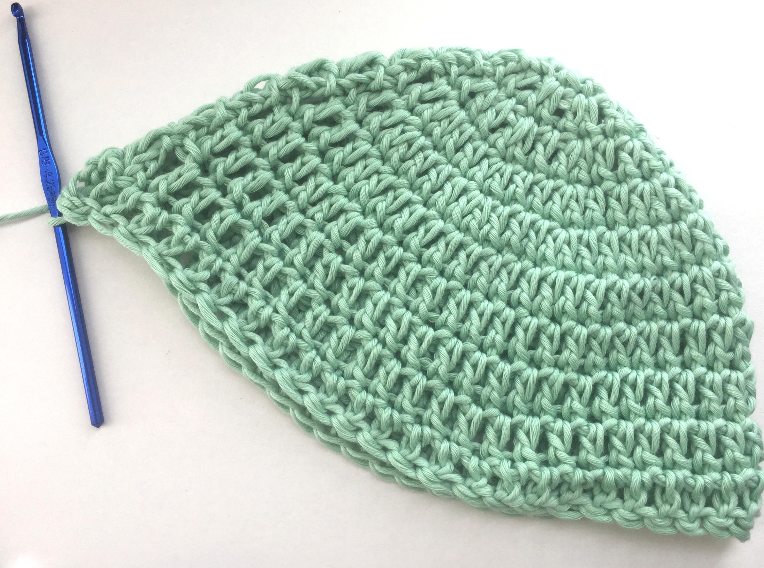 crochet baby hat in 10 rounds