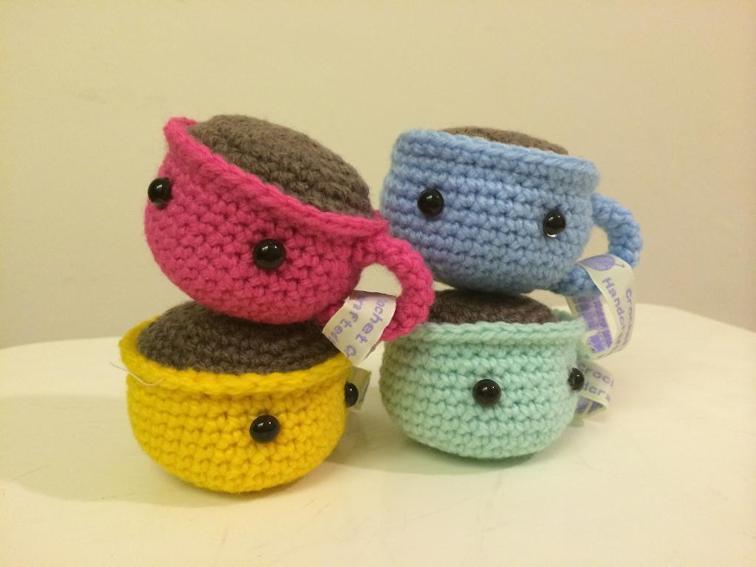 Crochet Baby Coffee Cup Amigurumi Pattern